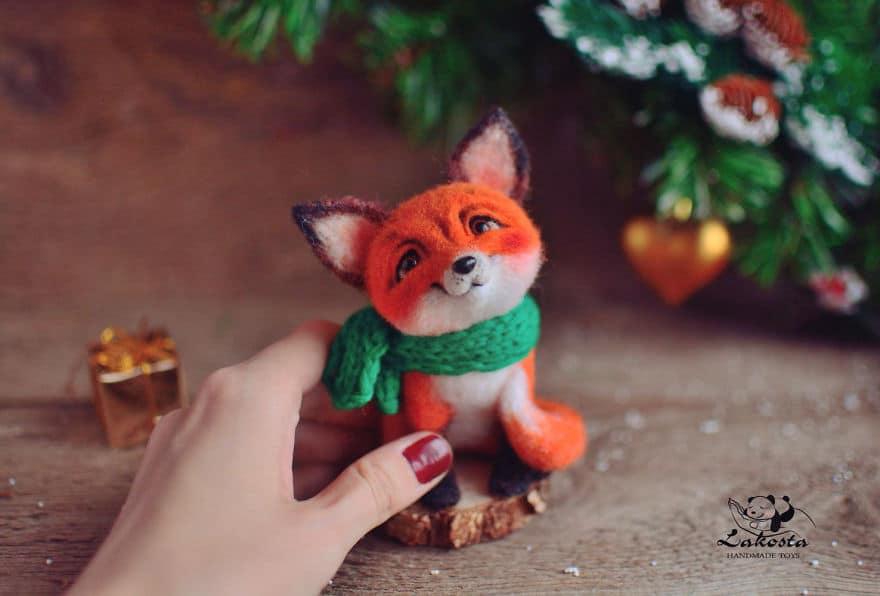 20-Cutest-Felted-Toys-Ever-By-LaKosta-59b2b3a8e4a14__880 Cute Banget, Kamu Pasti Gak Nyangka Kalau 18 Miniatur Hewan Ini Dibuat dari Kain Wol