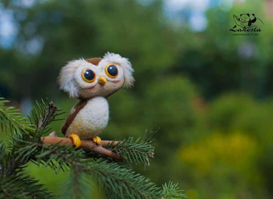 20-Cutest-Felted-Toys-Ever-By-LaKosta-59b2b3b382694__880 Cute Banget, Kamu Pasti Gak Nyangka Kalau 18 Miniatur Hewan Ini Dibuat dari Kain Wol