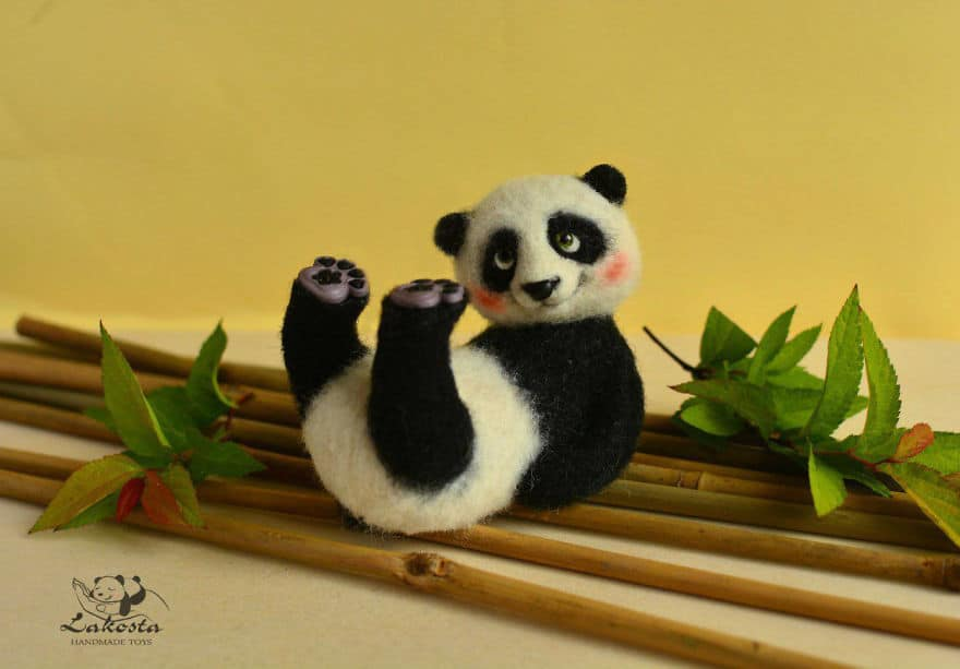 20-Cutest-Felted-Toys-Ever-By-LaKosta-59b2b3be6fb50__880 Cute Banget, Kamu Pasti Gak Nyangka Kalau 18 Miniatur Hewan Ini Dibuat dari Kain Wol