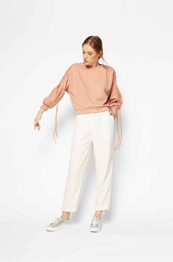 Detta_220517_02A_zoom Bosan Baju Lebaran Warna Putih? Coba 11 Blouse Berwarna Pastel di Bawah 250 Ribu Ini!