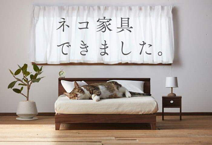 mini-furniture-cats-okawa-kagu-japan-4 Kini Hadir Furnitur untuk Kucing, Desainnya Bakal Bikin Kamu Ingin Punya!